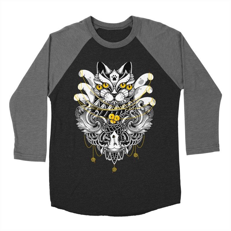 Sacred Ritual Men's Baseball Triblend T-Shirt by godzillarge's Artist Shop