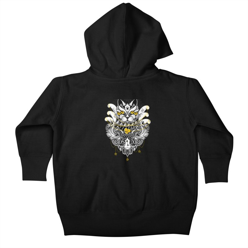 Sacred Ritual Kids Baby Zip-Up Hoody by godzillarge's Artist Shop