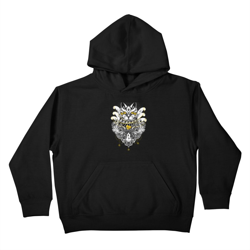Sacred Ritual Kids Pullover Hoody by godzillarge's Artist Shop