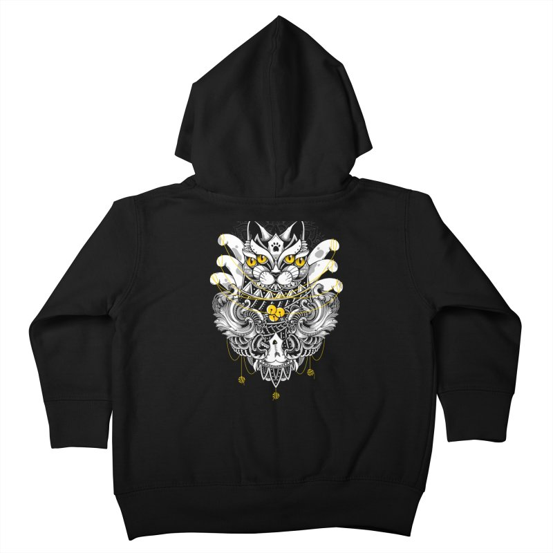 Sacred Ritual Kids Toddler Zip-Up Hoody by godzillarge's Artist Shop