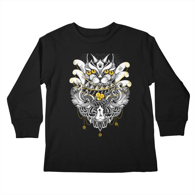 Sacred Ritual Kids Longsleeve T-Shirt by godzillarge's Artist Shop