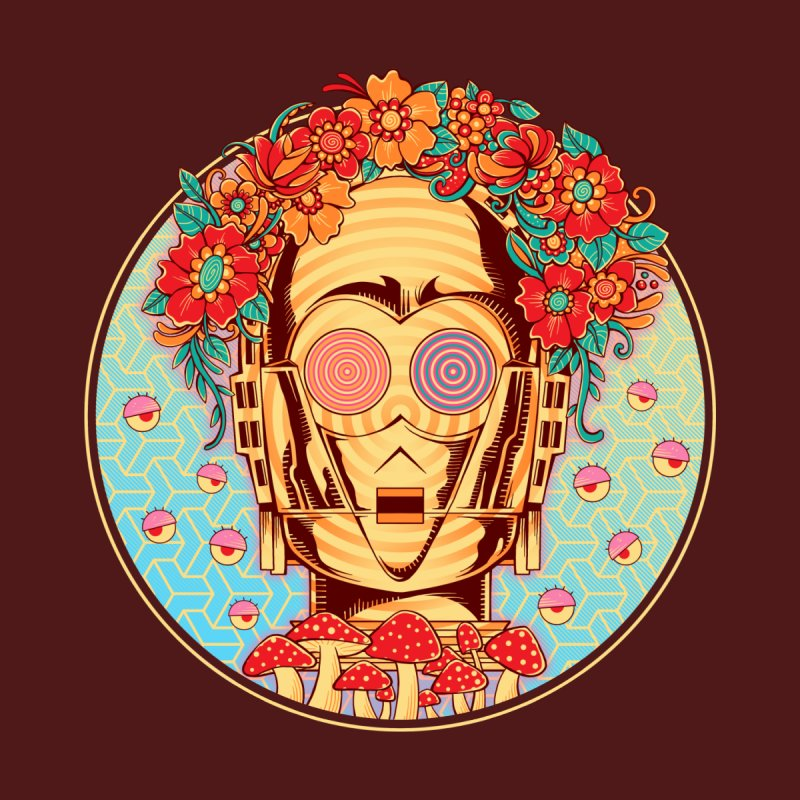 Hippie Droid by godzillarge's Artist Shop
