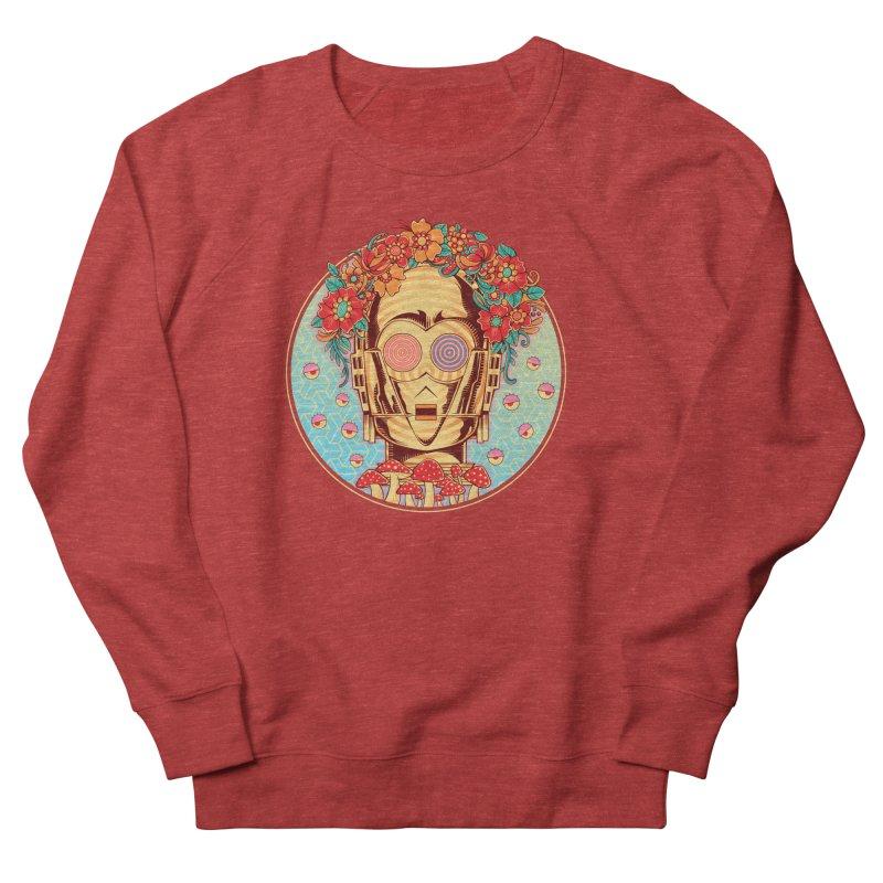 Hippie Droid Men's Sweatshirt by godzillarge's Artist Shop