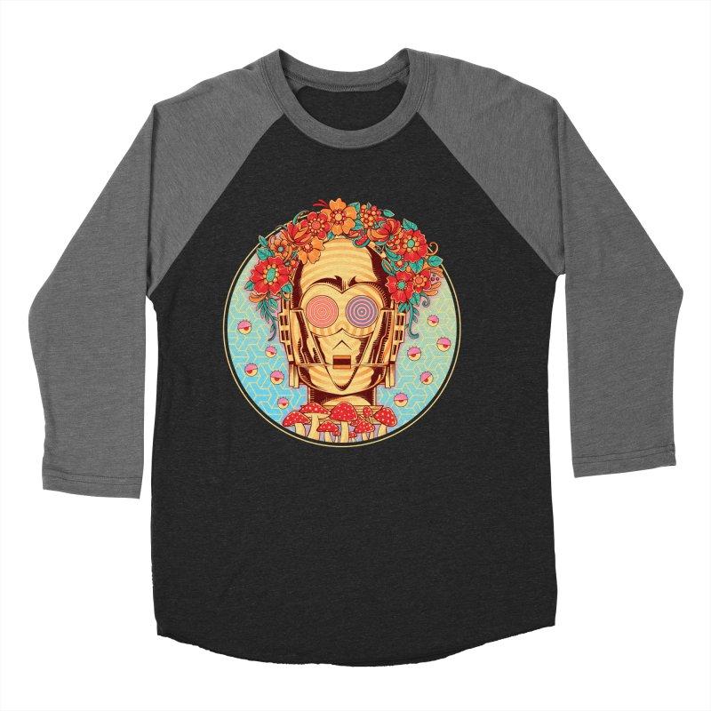 Hippie Droid Men's Baseball Triblend T-Shirt by godzillarge's Artist Shop