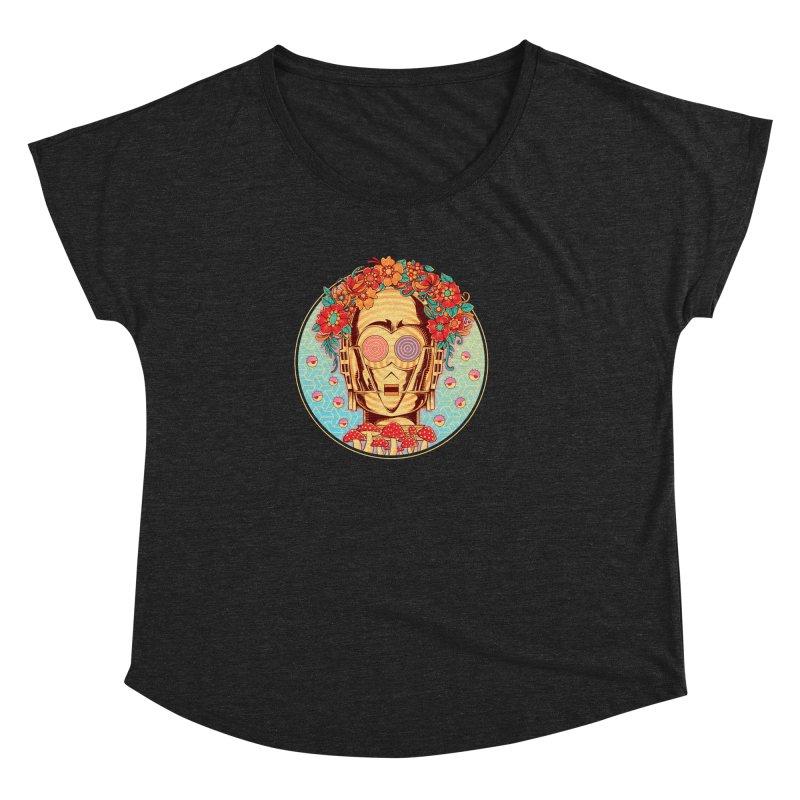 Hippie Droid Women's Dolman by godzillarge's Artist Shop