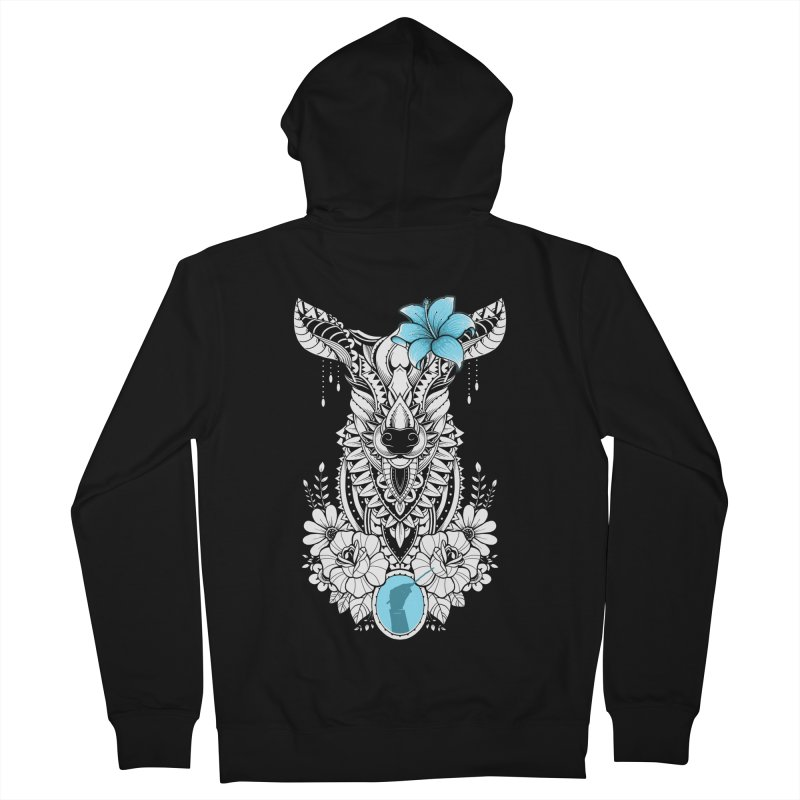 Lily Men's Zip-Up Hoody by godzillarge's Artist Shop