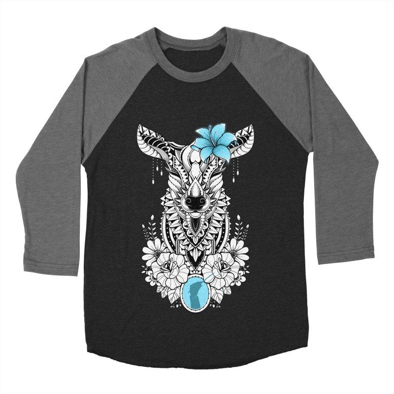Lily Women's Baseball Triblend T-Shirt by godzillarge's Artist Shop