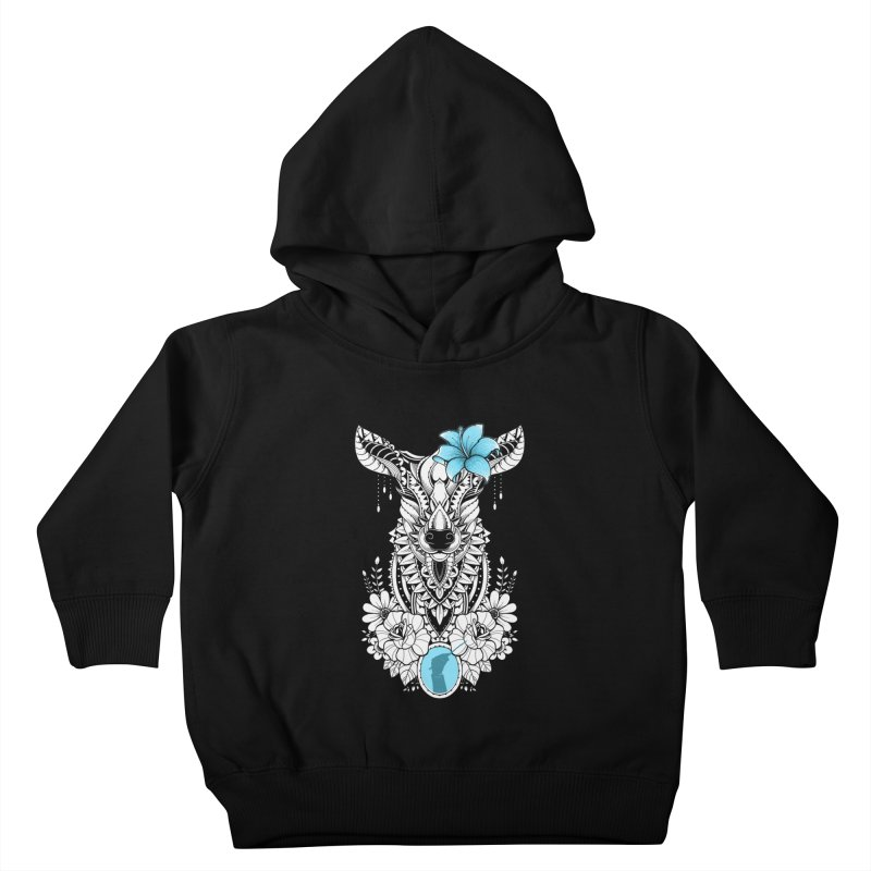 Lily Kids Toddler Pullover Hoody by godzillarge's Artist Shop