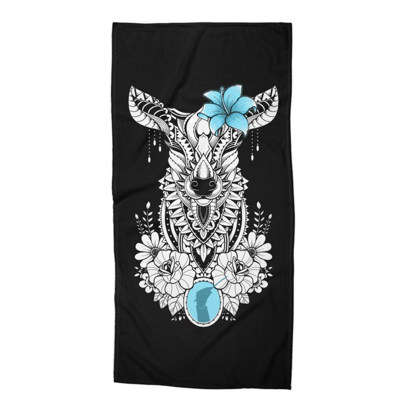 Lily Accessories Beach Towel by godzillarge's Artist Shop
