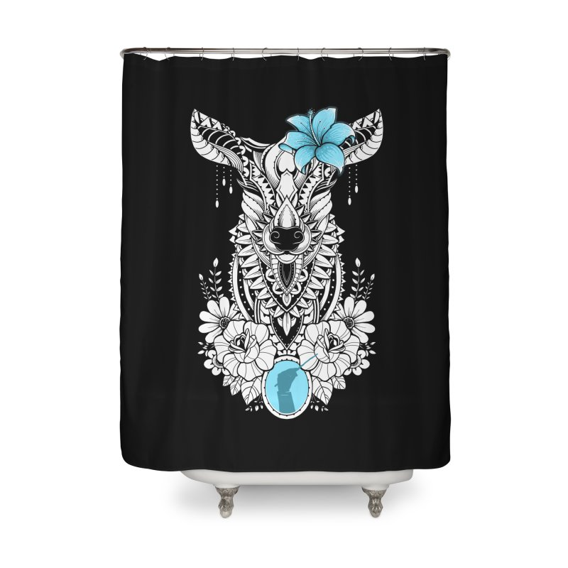 Lily Home Shower Curtain by godzillarge's Artist Shop