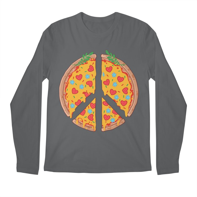 Peazza, Love and Joy Men's Longsleeve T-Shirt by godzillarge's Artist Shop