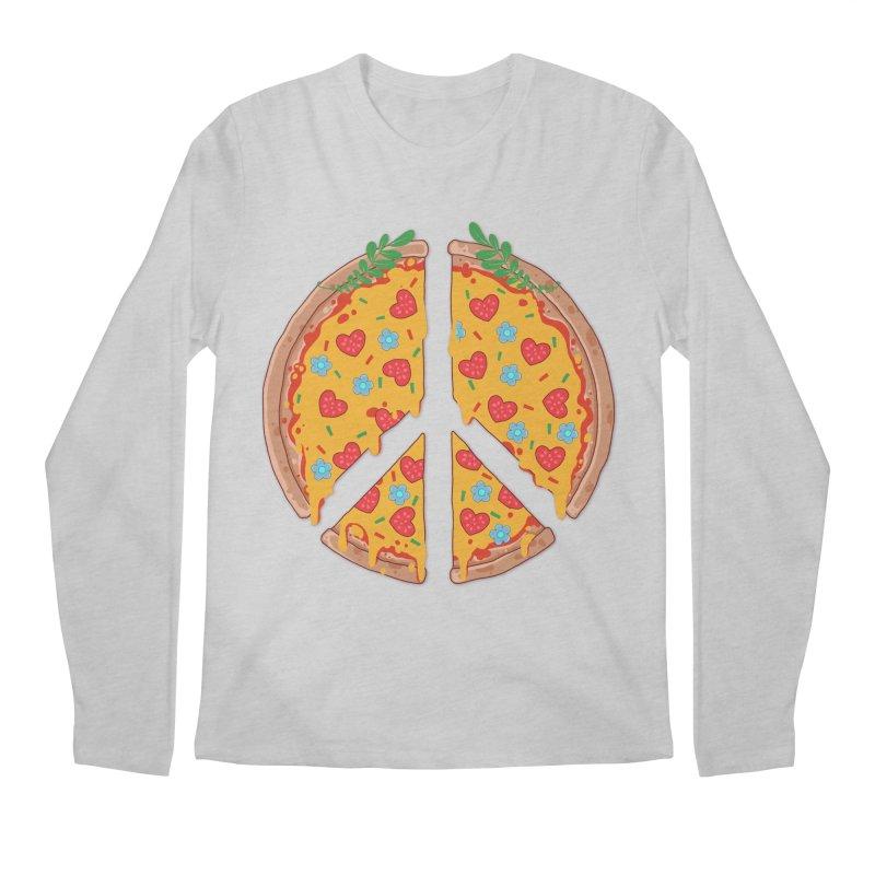 Peazza, Love and Joy Men's Longsleeve T-Shirt by godzillarge's Artist Shop