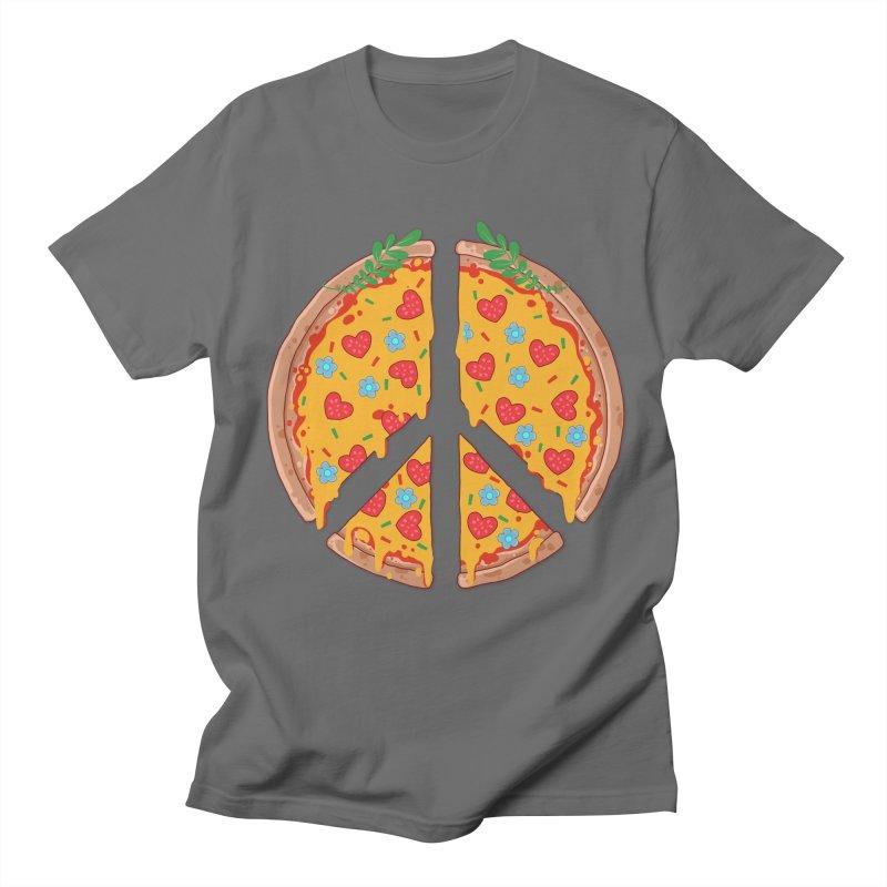 Peazza, Love and Joy Men's T-Shirt by godzillarge's Artist Shop