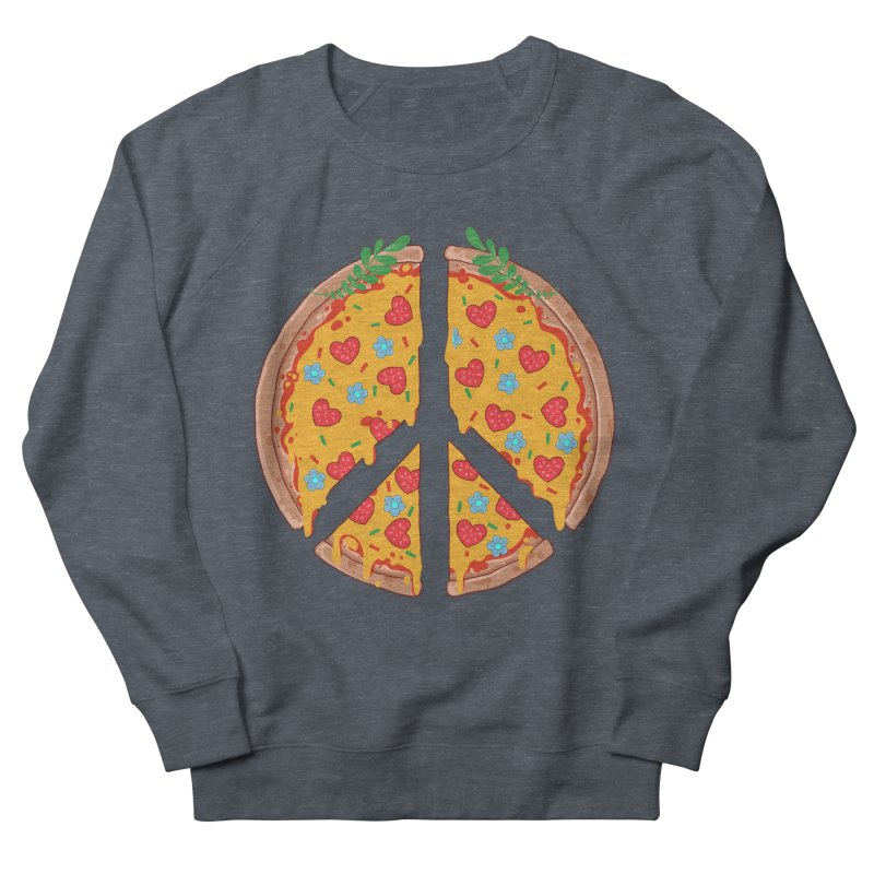 Peazza, Love and Joy Women's Sweatshirt by godzillarge's Artist Shop