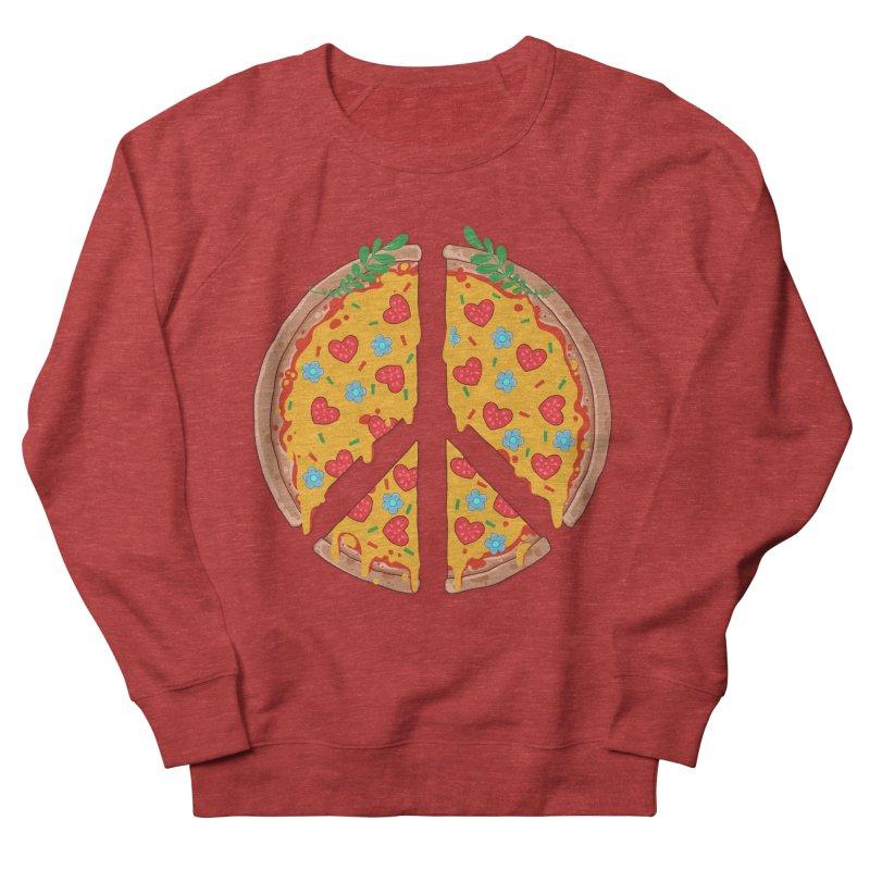 Peazza, Love and Joy Men's Sweatshirt by godzillarge's Artist Shop