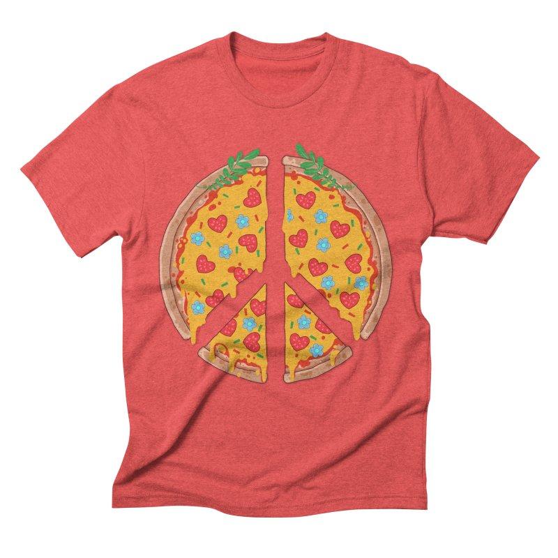 Peazza, Love and Joy Men's Triblend T-Shirt by godzillarge's Artist Shop