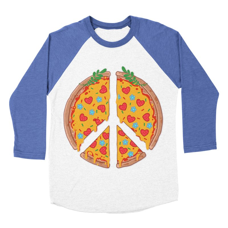 Peazza, Love and Joy Women's Baseball Triblend T-Shirt by godzillarge's Artist Shop