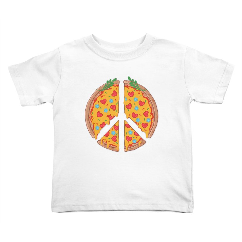 Peazza, Love and Joy Kids Toddler T-Shirt by godzillarge's Artist Shop
