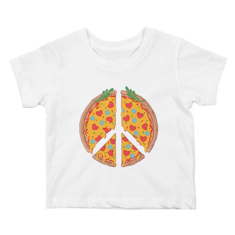 Peazza, Love and Joy Kids Baby T-Shirt by godzillarge's Artist Shop