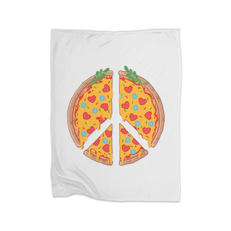 Peazza, Love and Joy Home Blanket by godzillarge's Artist Shop