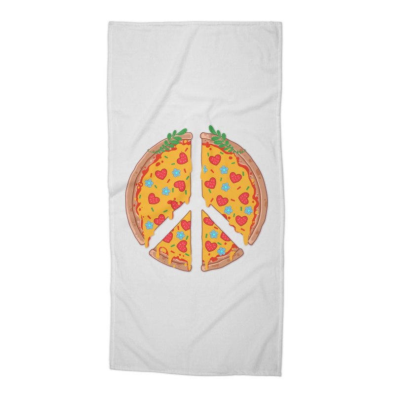 Peazza, Love and Joy Accessories Beach Towel by godzillarge's Artist Shop