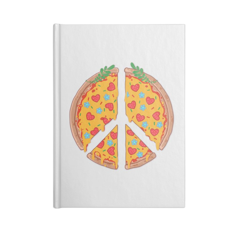 Peazza, Love and Joy Accessories Notebook by godzillarge's Artist Shop