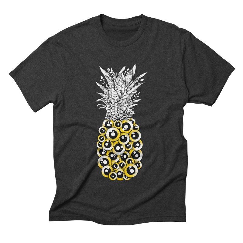 Tropical Illusion Men's Triblend T-Shirt by godzillarge's Artist Shop