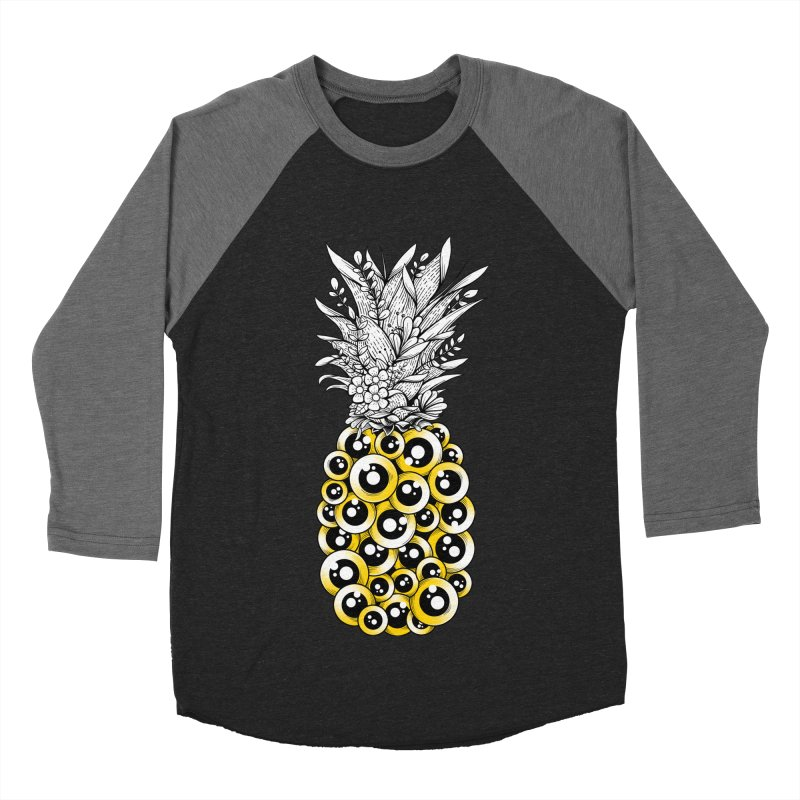 Tropical Illusion Women's Baseball Triblend T-Shirt by godzillarge's Artist Shop