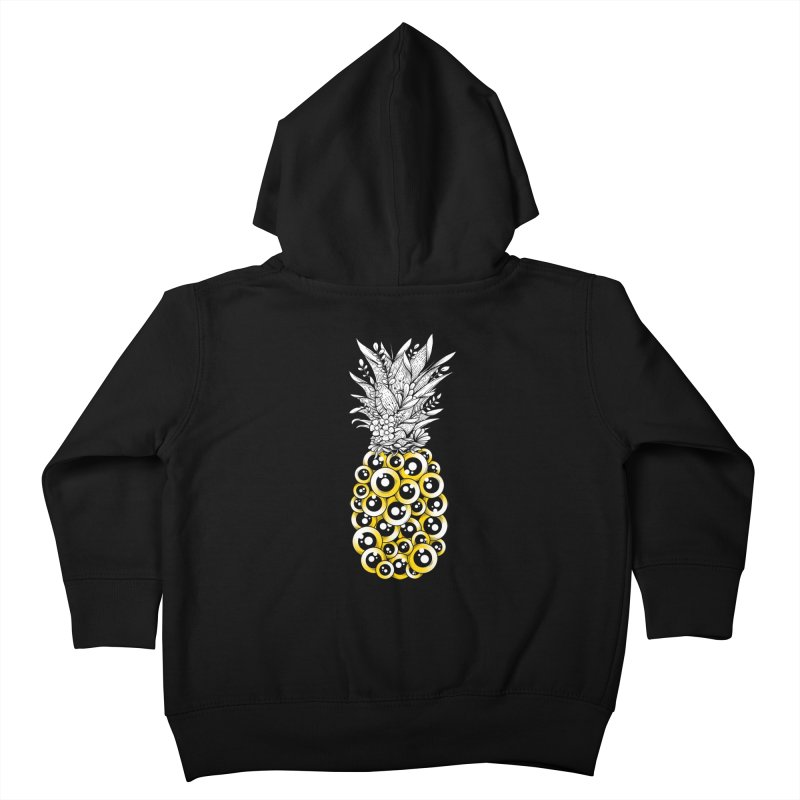 Tropical Illusion Kids Toddler Zip-Up Hoody by godzillarge's Artist Shop