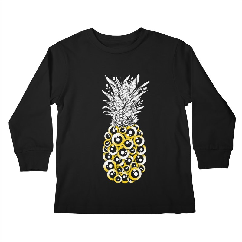Tropical Illusion Kids Longsleeve T-Shirt by godzillarge's Artist Shop
