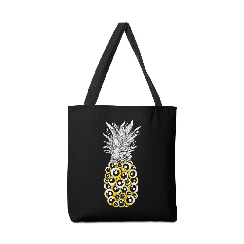 Tropical Illusion Accessories Bag by godzillarge's Artist Shop