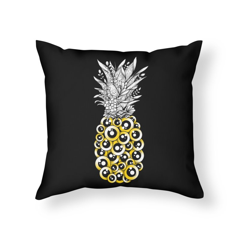 Tropical Illusion Home Throw Pillow by godzillarge's Artist Shop