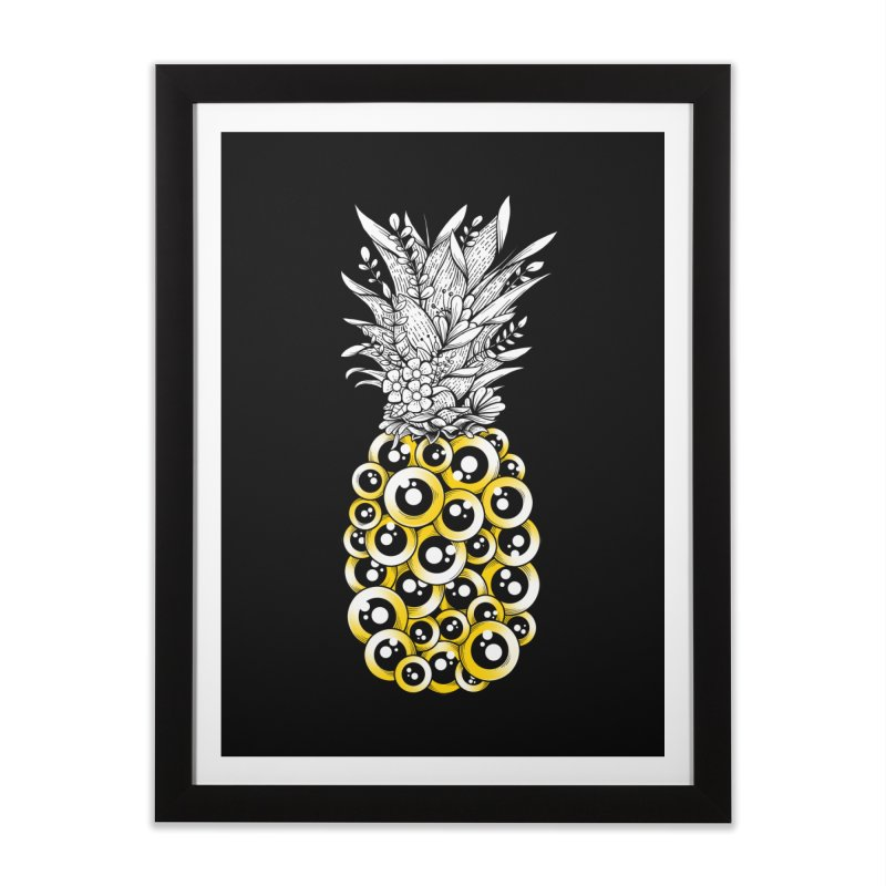 Tropical Illusion Home Framed Fine Art Print by godzillarge's Artist Shop