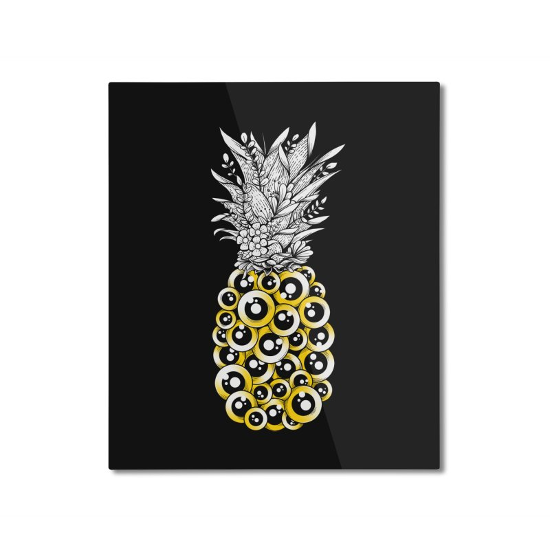 Tropical Illusion Home Mounted Aluminum Print by godzillarge's Artist Shop
