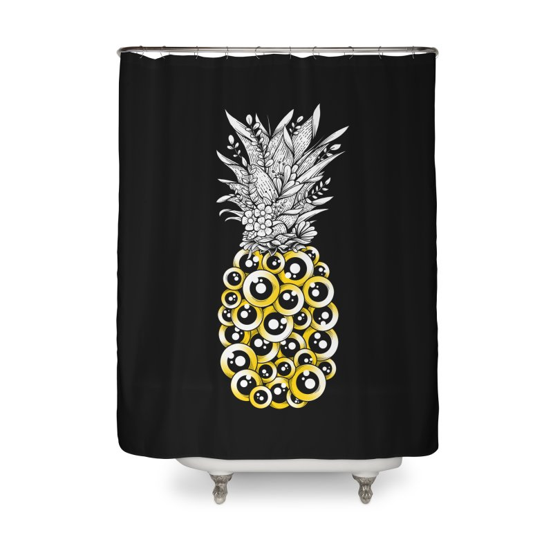 Tropical Illusion Home Shower Curtain by godzillarge's Artist Shop