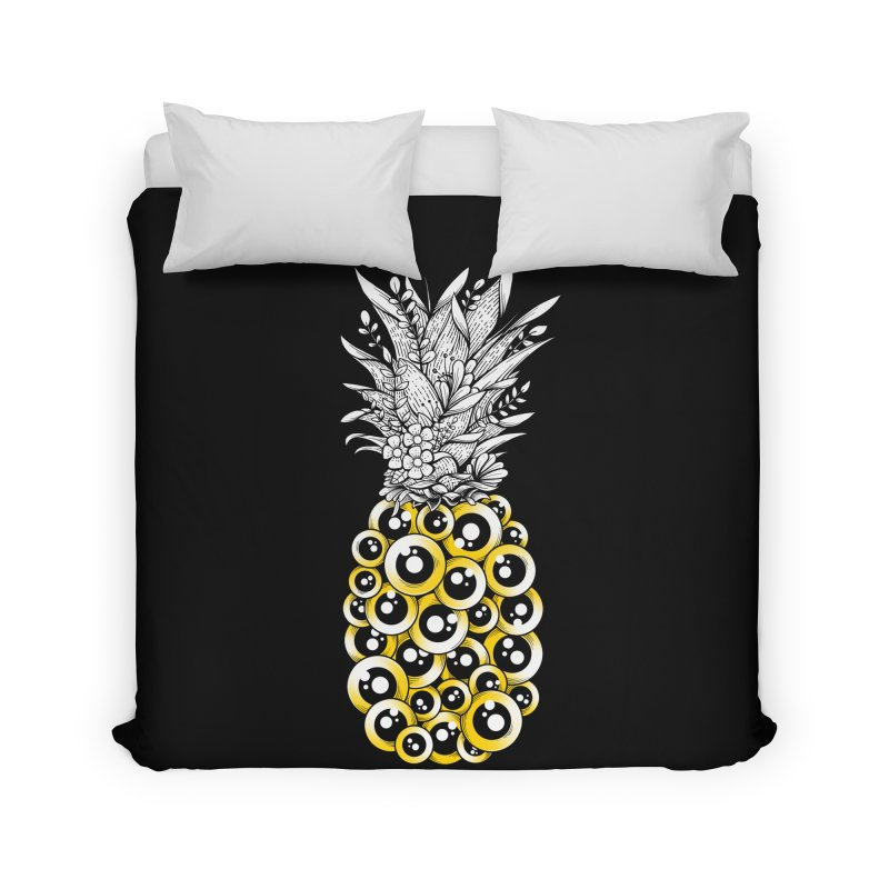 Tropical Illusion Home Duvet by godzillarge's Artist Shop