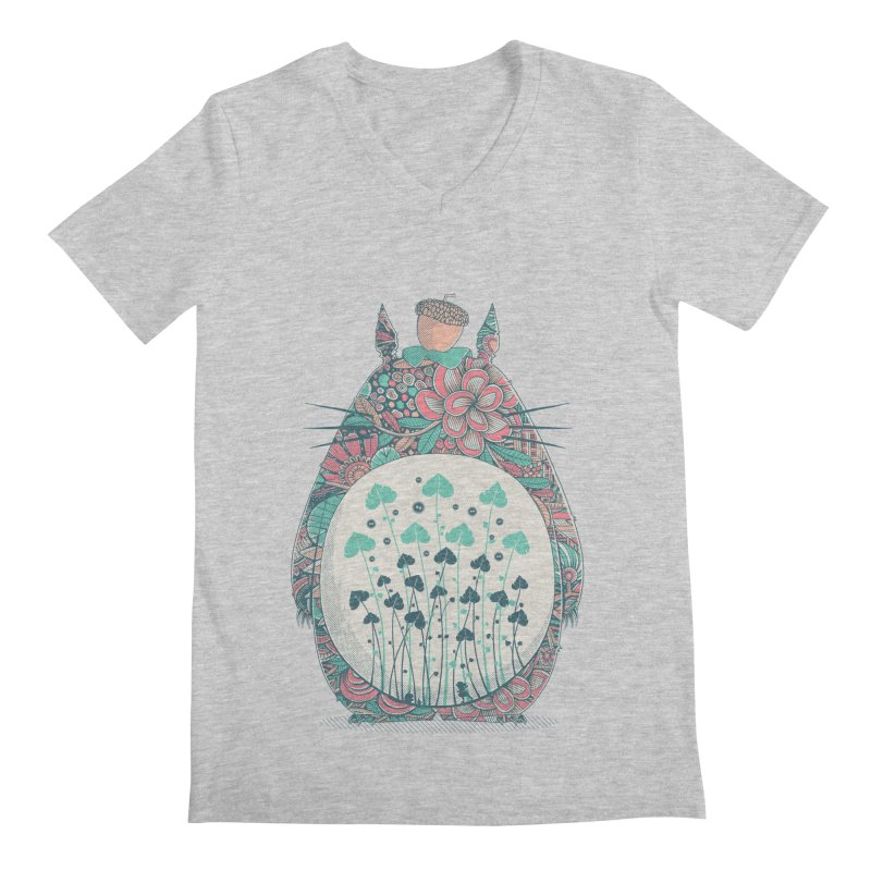 Unexpected Encounter Men's V-Neck by godzillarge's Artist Shop