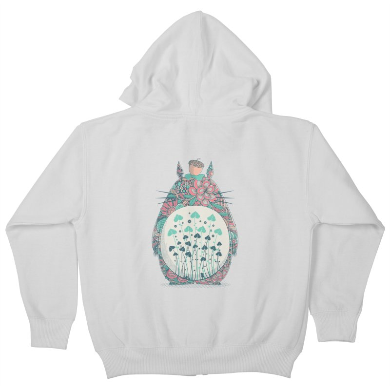 Unexpected Encounter Kids Zip-Up Hoody by godzillarge's Artist Shop