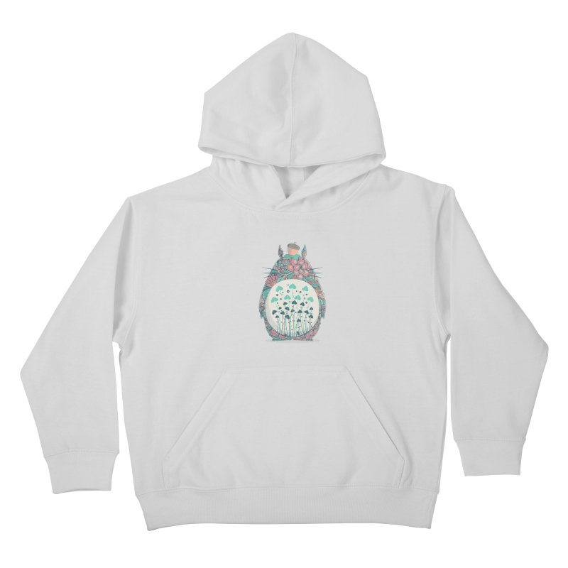 Unexpected Encounter Kids Pullover Hoody by godzillarge's Artist Shop