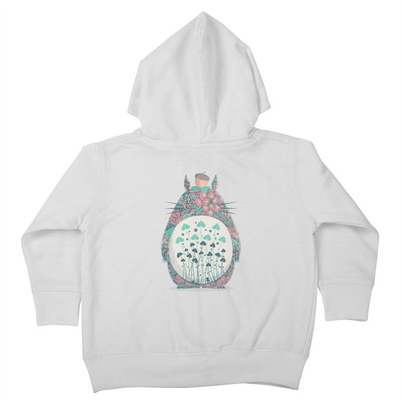 Unexpected Encounter Kids Toddler Zip-Up Hoody by godzillarge's Artist Shop