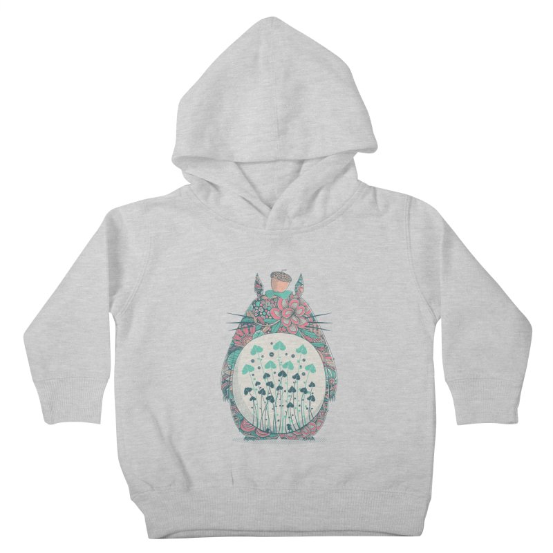 Unexpected Encounter Kids Toddler Pullover Hoody by godzillarge's Artist Shop