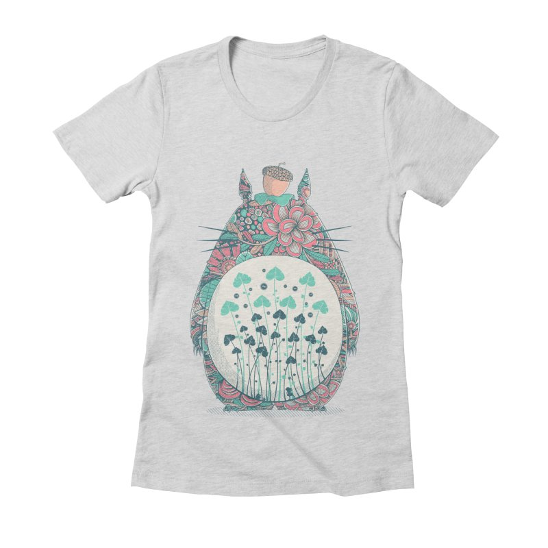 Unexpected Encounter Women's Fitted T-Shirt by godzillarge's Artist Shop