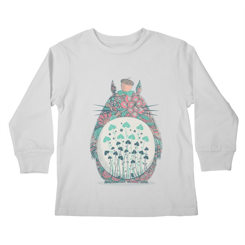 Unexpected Encounter Kids Longsleeve T-Shirt by godzillarge's Artist Shop