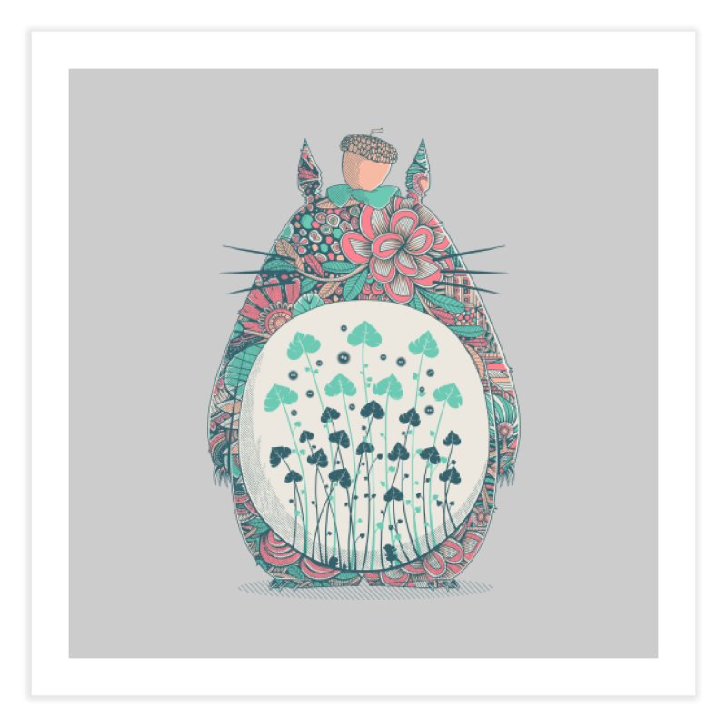 Unexpected Encounter Home Fine Art Print by godzillarge's Artist Shop
