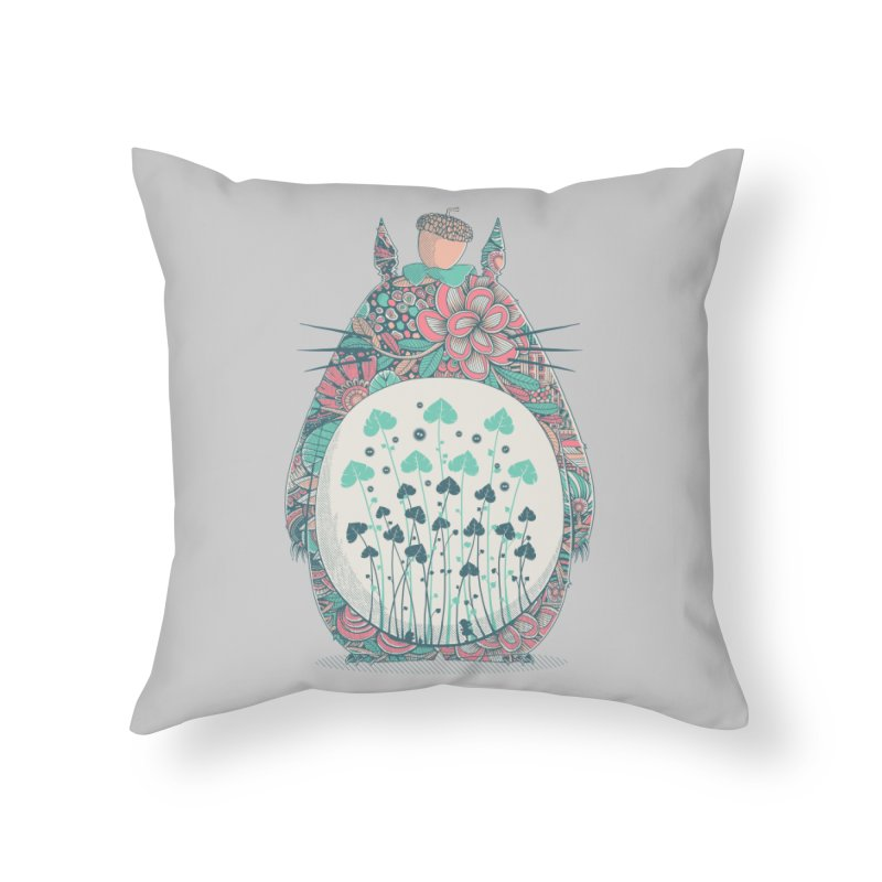 Unexpected Encounter Home Throw Pillow by godzillarge's Artist Shop