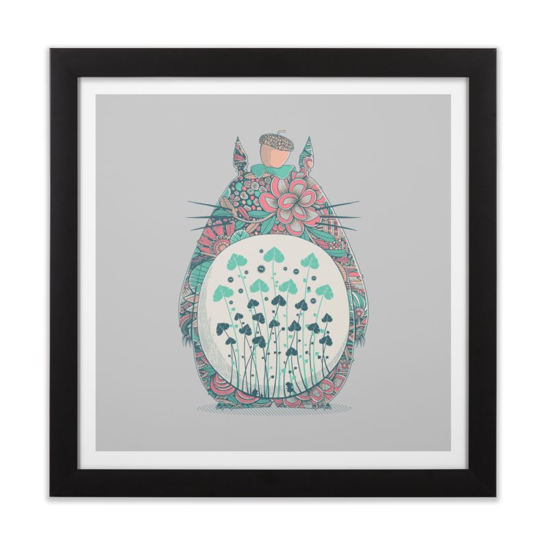 Unexpected Encounter Home Framed Fine Art Print by godzillarge's Artist Shop