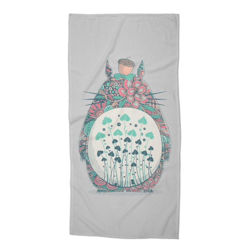 Unexpected Encounter Accessories Beach Towel by godzillarge's Artist Shop