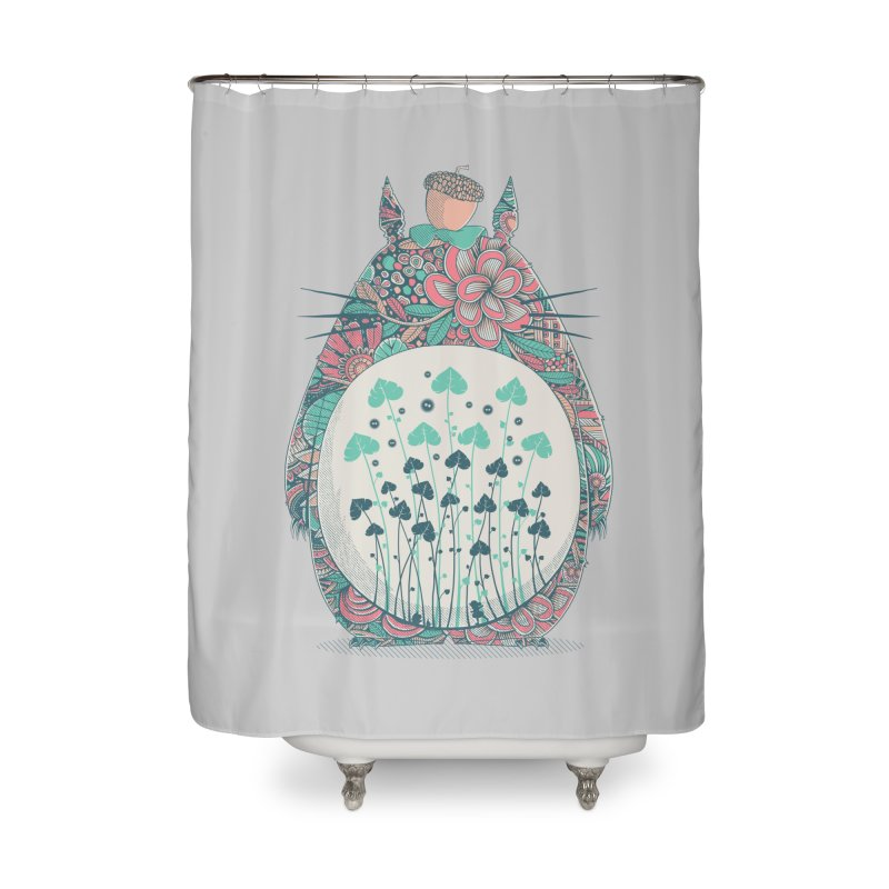 Unexpected Encounter Home Shower Curtain by godzillarge's Artist Shop