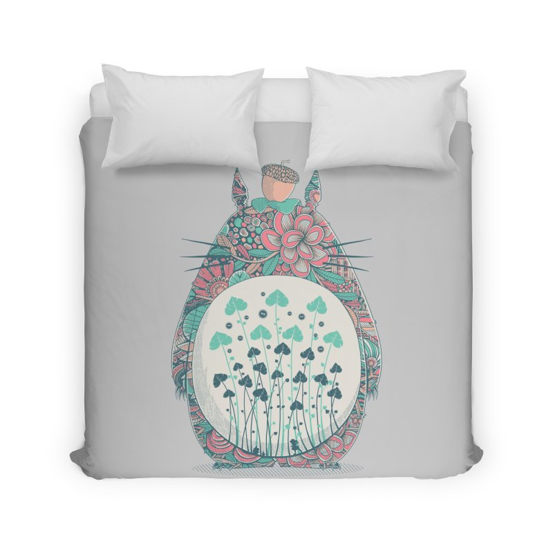 Unexpected Encounter Home Duvet by godzillarge's Artist Shop