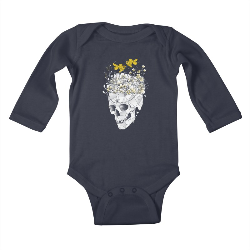 Get Lost With You Kids Baby Longsleeve Bodysuit by godzillarge's Artist Shop